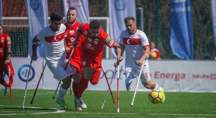 AMP Futbol 2021: Polska - Turcja 1:4