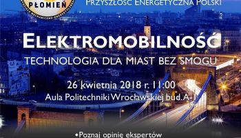 """""""Przyszłość Energetyczna Polski"""" – panel dyskusyjny na Politechnice Wrocławskiej! [fot. materiały prasowe]"""