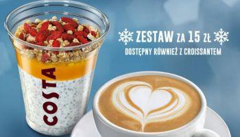 Królestwo śniadaniowych przyjemności w COSTA COFFEE!