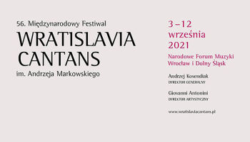 56.Wratislavia Cantans 2021