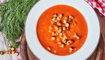 Zupa Krem z czerwonych warzyw Proste Historie