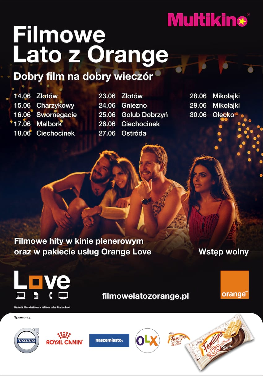 Filmowe Lato z Orange i Multikinem