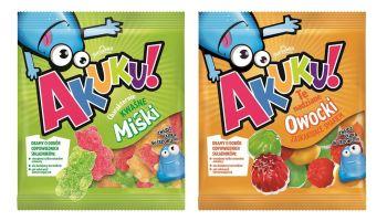 Poznaj nowe oblicze żelków Akuku! [fot. materiały prasowe]