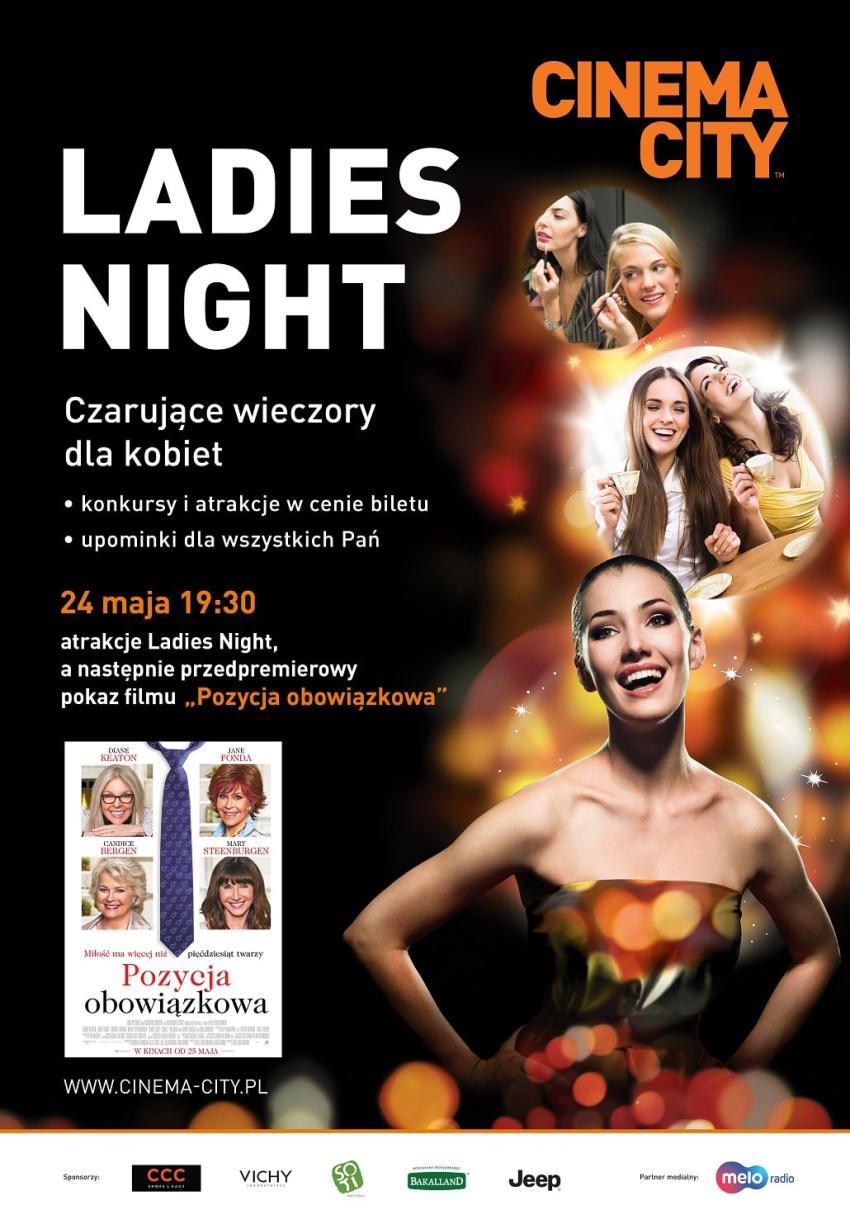 """Majowe """"Ladies Night"""" czyli """"Pozycja obowiązkowa"""" w kalendarzu każdej kobiety! Do wygrania, 2 podwójne bilety! [Wrocław]"""
