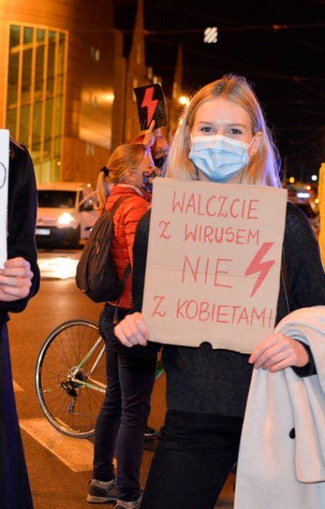 Poznań: Strajk Kobiet - Blokada Poznań