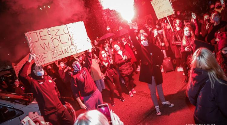 Strajk Kobiet: Blokada Wrocław
