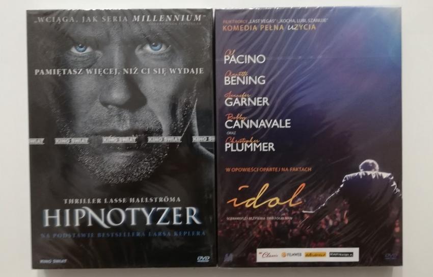 Hipnotyzer i Idol – wygraj zestaw filmów na DVD
