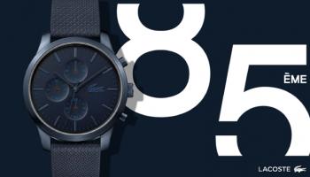 Limitowana kolekcja zegarków na 85. urodziny marki LACOSTE