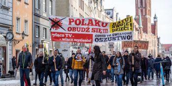 Serce Wolności - manifestacja w Gdańsku