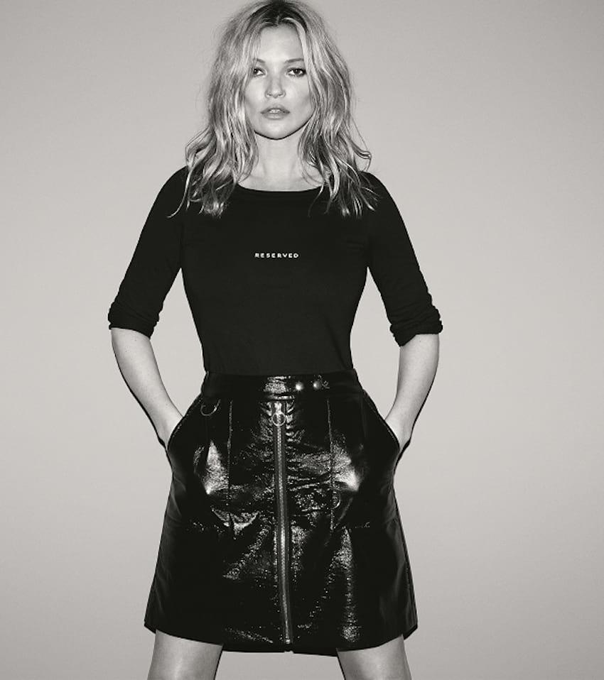 Kate Moss w kampanii Reserved jesień/zima 17/18