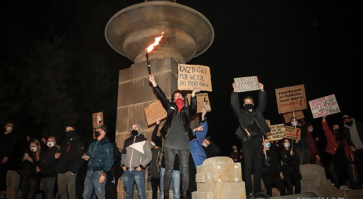 Strajk Kobiet: Wrocław blokuje ulice