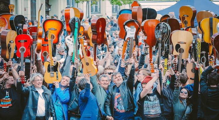 Gitarowy Rekord Guinnessa,