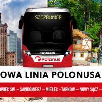Nowa trasa Polonus – wygodny dojazd z Warszawy do Szczawnicy!