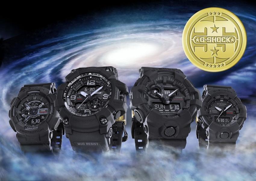 Jubileuszowa, limitowana kolekcja zegarków G-SHOCK