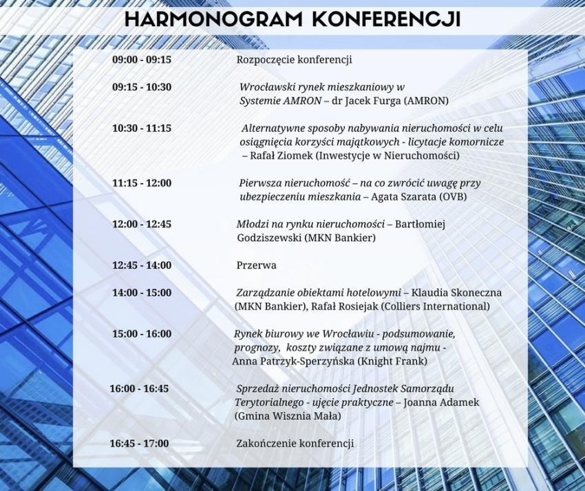 Nieruchomości dla Studenta i Absolwenta – informacje o konferencji i harmonogram [fot. materiały prasowe]