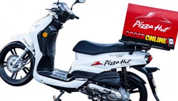 Pizza Hut wprowadza do Wrocławia flotę elektrycznych skuterów