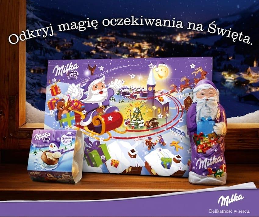 Odkryj magię oczekiwania na Święta z Milką!