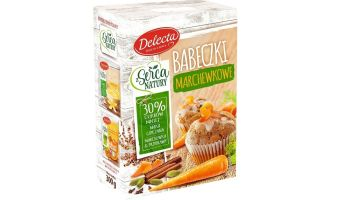 Babeczki marchewkowe – prosto i naturalnie z Delectą! [fot. materiały prasowe]