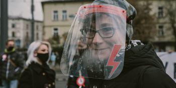 Strajk Kobiet: Mamy prawo! - manifestacja w Krakowie