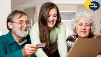 Nauka internetu dla seniorów z bezpłatnymi materiałami Aasy Netu [fot. materiały prasowe / Aasy Netu]