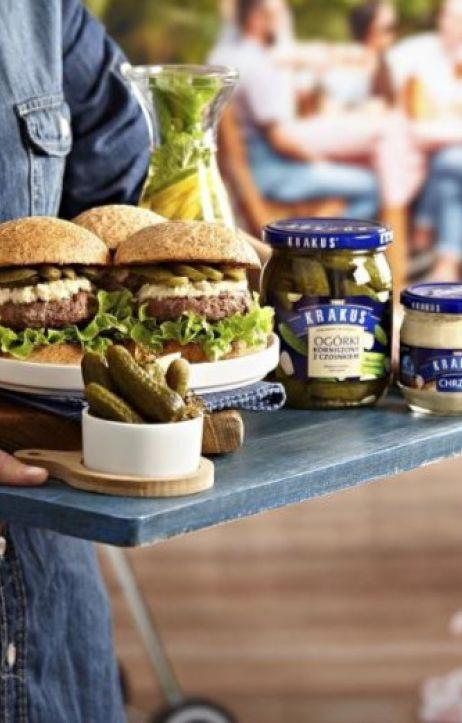 Przepisy na grilla – pyszne jedzenie wsparte przez nowe produkty Krakus