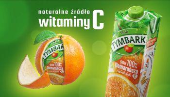 Tymbark Vitamini – dowiedz się, jak pomarańcz trafiła do twojego ulubionego soku! [fot. materiały prasowe]