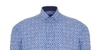 TK Maxx Niebieska wzorzysta koszula 129.99 zł