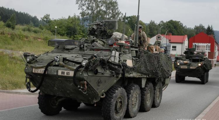 Saber Strike'18 - wojska amerykańskie w Polsce