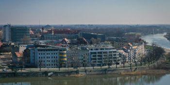 Wrocław z lotu ptaka