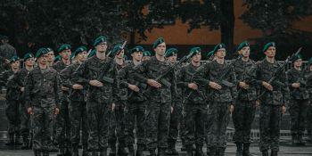 Przysięga wojskowa medyków w AWL