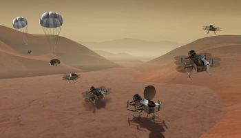 NASA rozważa zbadanie Tytana za pomocą drona
