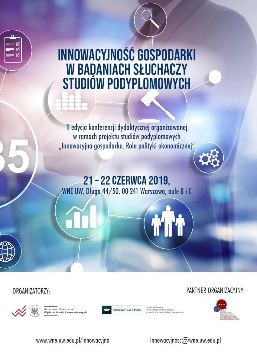 """Konferencja """"Innowacyjność gospodarki w badaniach słuchaczy studiów podyplomowych"""""""