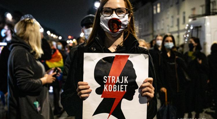 Strajk Kobiet - manifestacja w Warszawie