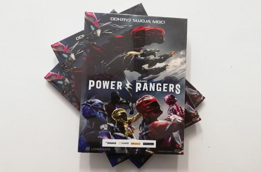 Power Rangers – wygraj film na DVD!