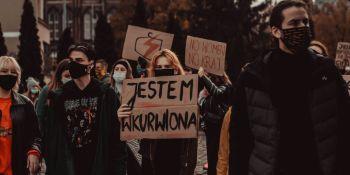 Strajk Kobiet - manifestacja w Gdańsku