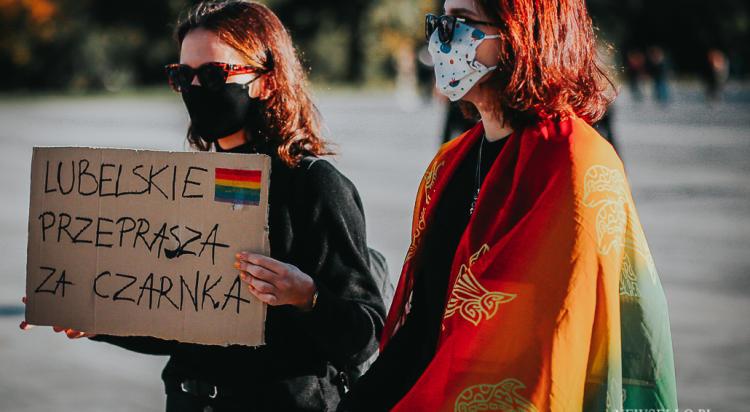 Nie dla Ministra Homofobii - manifestacja we Wrocławiu