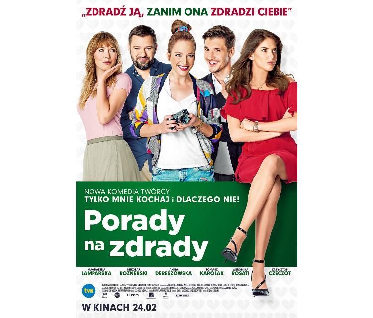 """Bilety na film """"Porady na zdrady"""" już w sprzedaży w sieci Multikino!"""