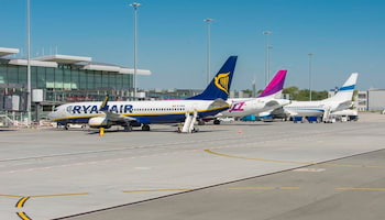 Wrocławskie lotnisko z nowym rekordem